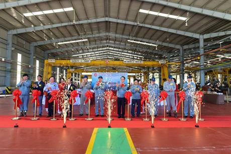 Tổ chức sự kiện Nha Trang, Quy Nhơn, Phú Quốc tổ chức Lễ khánh thành nhà máy JEIL VINA