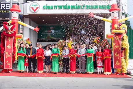 Khai trương tòa nhà EMC building 62 Yersin