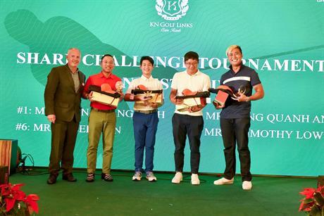 GALA DINNER TRAO GIẢI KN golf links Cam ranh