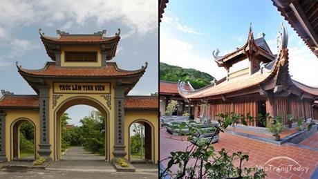Chùa Trúc Lâm Trên Đảo Hòn Tre Nha Trang( Di tích lịch sử văn hóa Tỉnh Khánh Hòa)