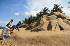 Triển lãm nghệ thuật cát: Hứa hẹn mang đến điều thú vị cho Festival Biển 2011